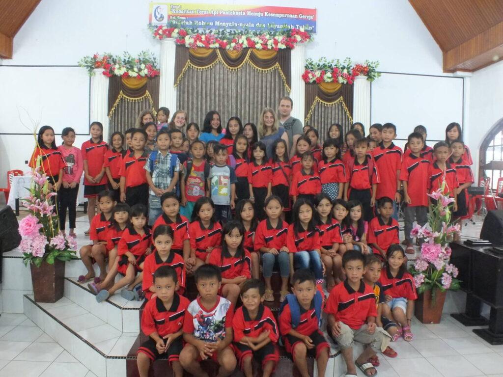 Compassion - Kinder im Kinderzentrum Gruppenbild
