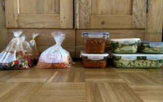 Mealprep/Vorkochen - verschiedene Gerichte