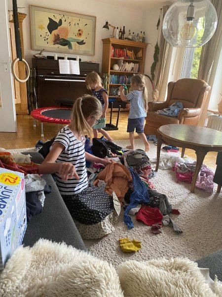 Wäscheparty - Haushalt